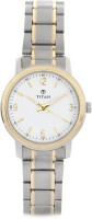 Titan Analog Watch  - For Women - Silver, Gold