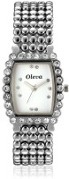 Oleva OSW-20-Silver Analog Watch  - For Women