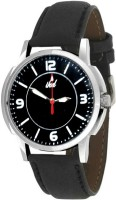Ikd Black Leather Strap WC32 Fashion Analog Watch  - For Men