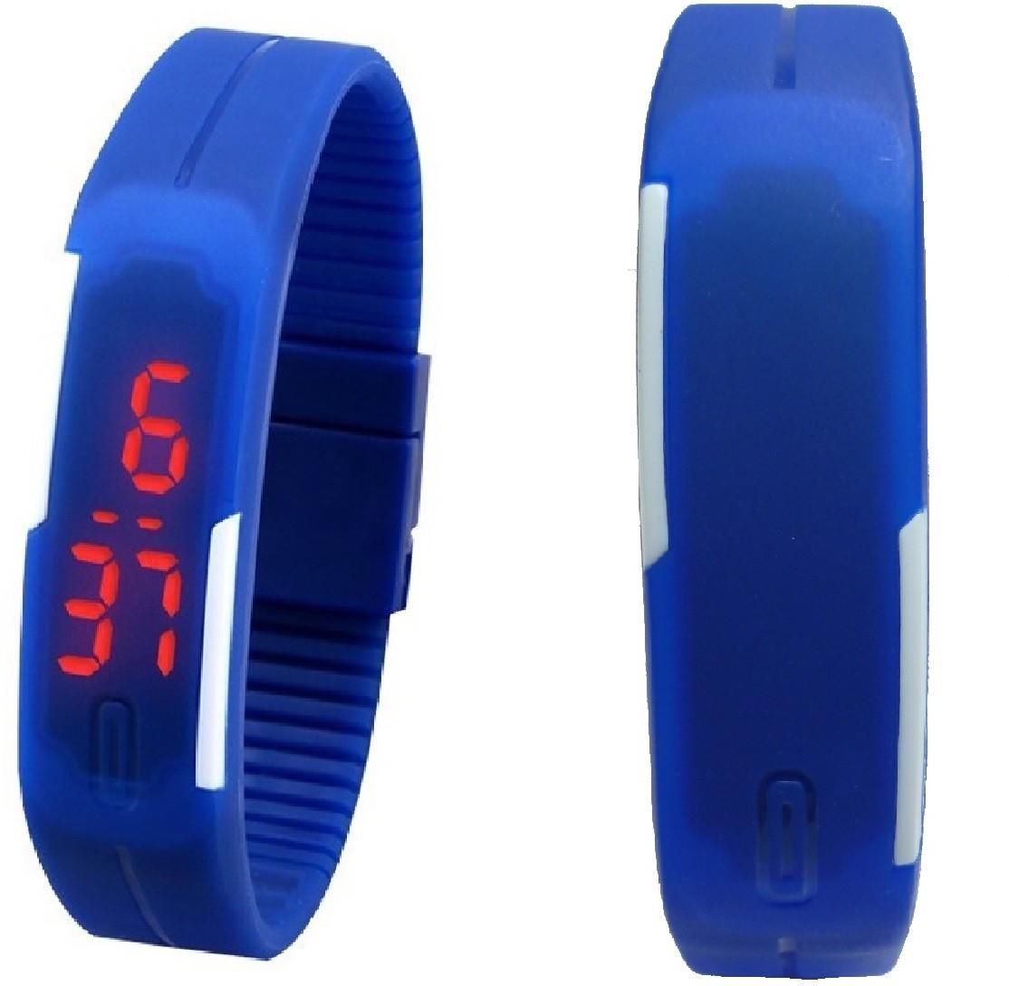Adino Set of 2 Jelly Slim LED Digital Watch    For Women available at Flipkart for Rs.349
