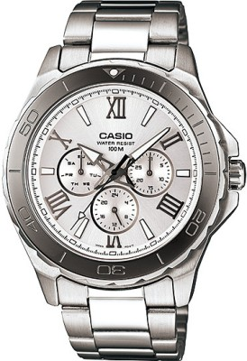 Casio Analog Watch   For Men Steel available at Flipkart for Rs.5100