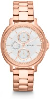 Fossil ES Series Analog Watch  - For Women - Gold