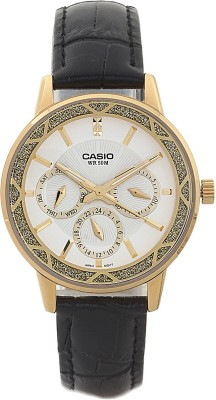 Casio A909 Enticer Analog Watch  - For Women