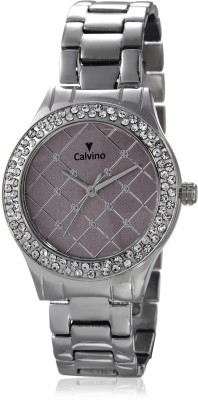 Calvino Calvino Analog Watch (Silver)