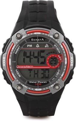 Sonata Superfibre Digital Watch