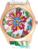 Zoya-V2 908_P Floral Print Analog Watch  - For Girls, Women
