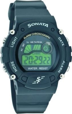 Sonata 7982pp03 Superfibre Digital Watch For Men Buy