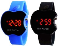 TOREK TOREK TO-06 COMBO OF 2 APPLE SHAPE LED WATCH FOR BOYS,GIRLS,MEN,WOMEN Digital Watch  - For Boys, Girls, Men, Women