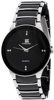 IIK Collection COLLECTION Silver And Black Analog Watch  - For Men