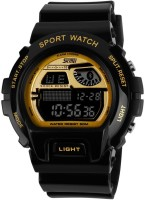 Skmei DG1010-Black-Gold Sports Digital Watch  - For Men, Boys, Women, Girls