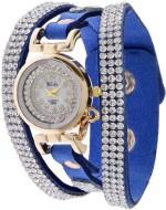 Felizo Wrist Watches Felizo Designer Diamond Fancy Love Analog Watch For Women