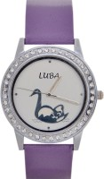 Luba Gd452 Crystal Analog Watch  - For Women