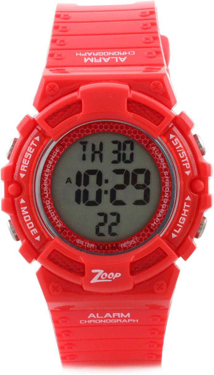 45a546b5cd7 ... ZOOP DIGITAL WATCH FOR BOYS GIRLS RED