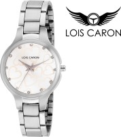Lois Caron LCS-4516 WHITE HEART DIAL Analog Watch  - For Girls, Women