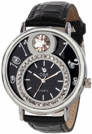 Chappin & Nellson CN-10-L-Black Analog Watch  - For Women