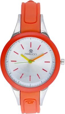 Perucci Analog Watch (Red)