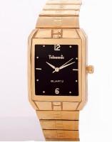 Telesonic 12RGSQM-02 BLACK Golden Era Analog Watch  - For Men