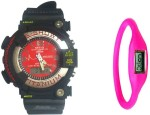 Thump Wrist Watches Thump MT G Stylo Analog Digital Watch For Men, Women, Boys, Girls