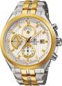 Casio Edifice Analog Watch  - For Men - Silver, Gold