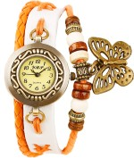 Crystal Collections Wrist Watches Crystal Collections BBW ORN Vintage Analog Watch For Girls