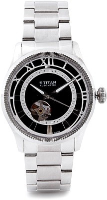 Titan Automatic Analog Watch - For Men Silver