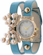 Srushti Art Jewelry Wrist Watches Yilisha_Diamond_Butterfly_firozi1