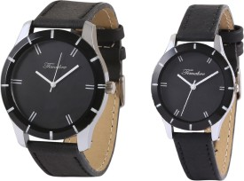 Timebre CPLCOM98 Ebony Analog Watch  - For Couple