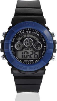 Style Feathers Wrist Watches Style Feathers SF Sport Blue Digital Watch For Men