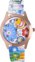 Zoya-V2 ZV2-908-WBGN-37 Rose Gold Dial Analog Watch  - For Girls, Women