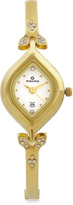 Maxima GOLD COLLECTION Analog Watch  - For Women - Gold