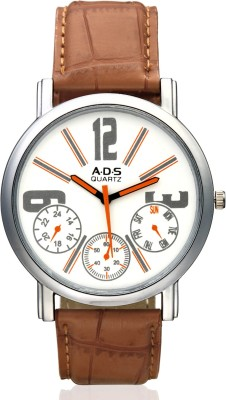 ADS Wrist Watches ADS ADS_Watches_Brown Stylish Analog Watch For Men
