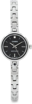 Casio Retro Trav Analog Watch   For Women Silver available at Flipkart for Rs.2655