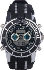 Quamer Wrist Watches SD 161_BK BKSL SB