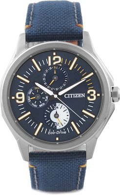 Citizen Eco-Drive Analog Watch - For Men Blue