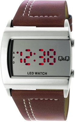 Q&Q Digital Watch   For Men Brown available at Flipkart for Rs.820