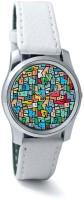 PosterGuy BigOwl Mosaic City Circuit Women's Analog Wrist Watch-1014358336-RS2-S-WHT Analog Watch  - For Women