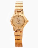 Telesonic 20RGLRW-01 GOLD Golden Era Analog Watch  - For Women