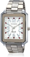Invaders Ambassador White Analog Watch  - For Men