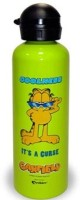 Archies Garfield Series 1000 Ml Water Bottle (Set Of 1, Green)