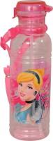 Disney Cinderella 500 Ml Water Bottle (Set Of 1, Pink:Light Pink)