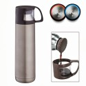 Hot Muggs Travel Mugs And Flasks 500 Ml Water Bottles - Set Of 1, Meridian