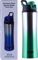 H2O STAINLESS STEEL SPORTS BOTTLE 670 Ml Water Bottle (Set Of 1, GREEN)