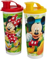 Tupperware Disney Tumblers 350 Ml Water Bottles (Set Of 2, Red, Yellow)