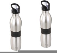 Pigeon Playboy 750 Ml Water Bottles (Set Of 2, Black)