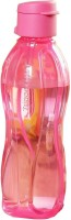 Tupperware Flip Top 500 Ml Water Bottle (Set Of 1, Dark Pink)
