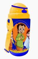 Chhota Bheem Opaque Series 360 Ml Water Bottle (Set Of 1, Blue)