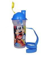 Tupperware Printed 400 Ml Water Bottle (Set Of 1, Blue)