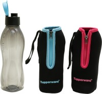 Tupperware Aquasafe 750 Ml Water Bottle (Set Of 1, Black)