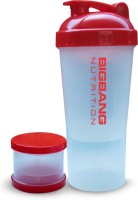 BIGBANG NUTRITION Protein Shaker 600 Ml (White & Red)