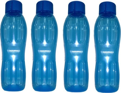 Signoraware Aquafresh 1000 ml Water Bottles Set of 4, Blue available at Flipkart for Rs.350